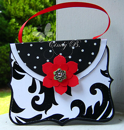 Top note purse card