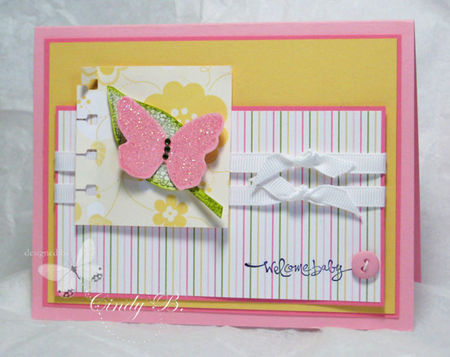 Butterfly for baby