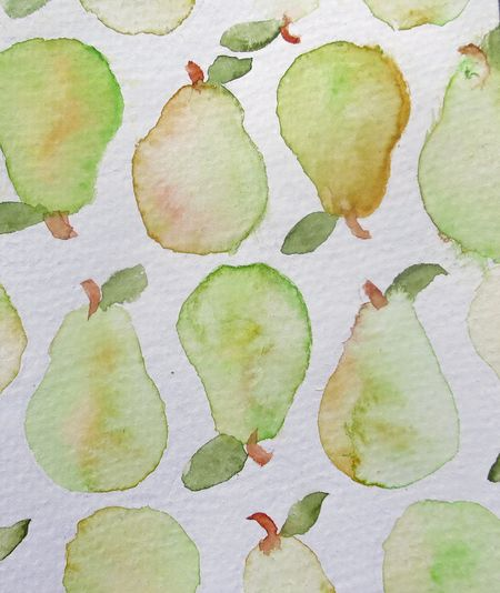 Watercolorpears