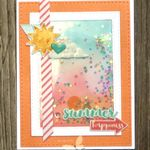 Summer Happiness = a fun Simon Says Stamp card kit!