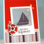 Nautical Thanks Card for Fusion